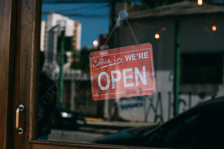 開店オープン