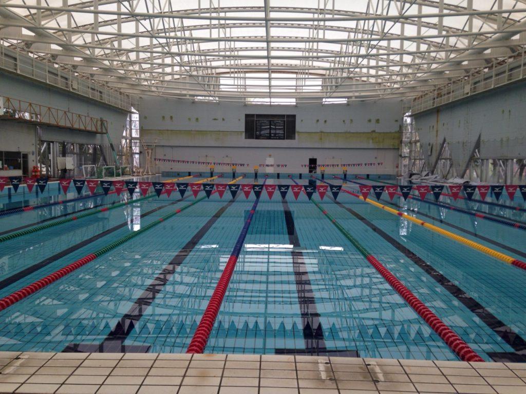 早稲田大学水泳部プール