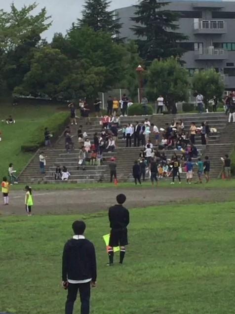 白草台運動公園目撃