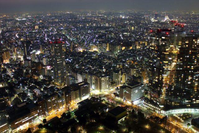 東京都庁の展望台