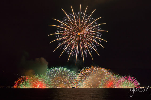 諏訪湖祭湖上花火大会05