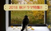 2018 秋ドラマ特集 !!のコピー