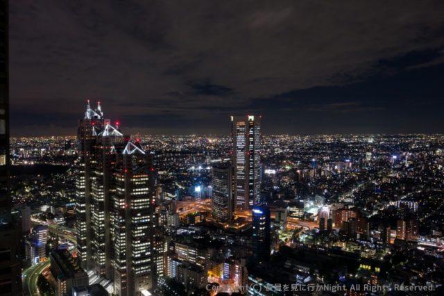新宿NSビルの展望台
