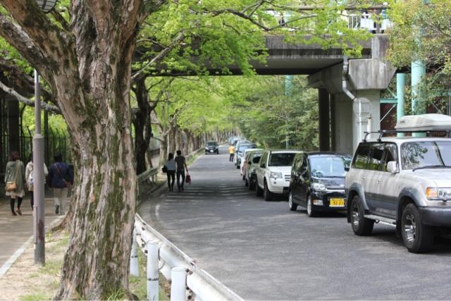 東山動植物園駐車場03