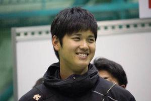 大谷翔平笑顔