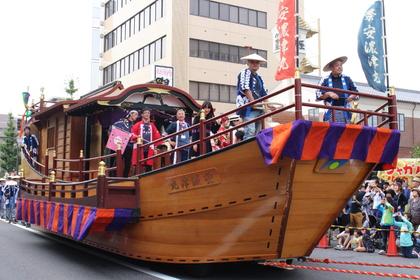 和船山車「安濃津丸」