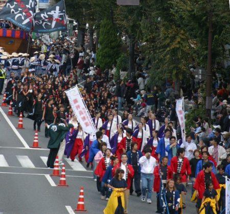 津まつり大パレード
