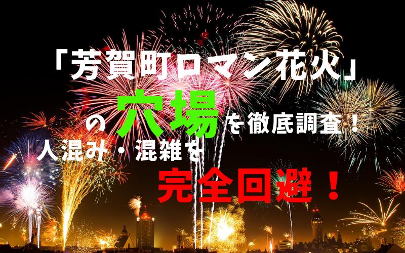 アイキャッチ芳賀町ロマン花火
