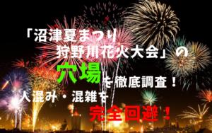 沼津夏まつり・狩野川花火大会アイキャッチ