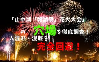 山中湖「報湖祭」花火大会アイキャッチ