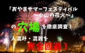 「おやまサマーフェスティバル~小山の花火~」アイキャッチ